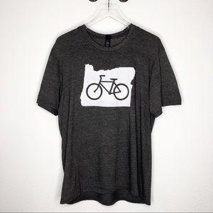 Oregon Bike Graphic Tee